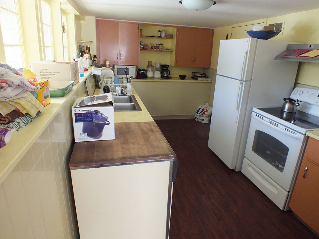 Kitchen- before renovation