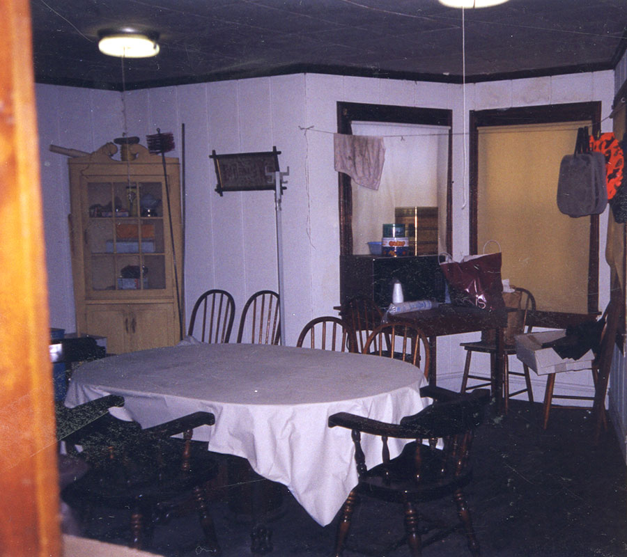Marionette Farm- dining room before