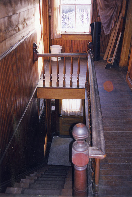 Before Renovation- stair hall