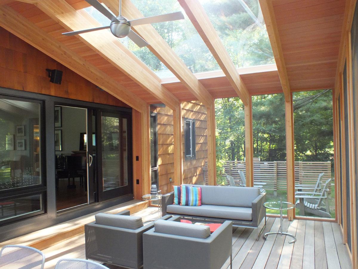 Modern Screen Porch